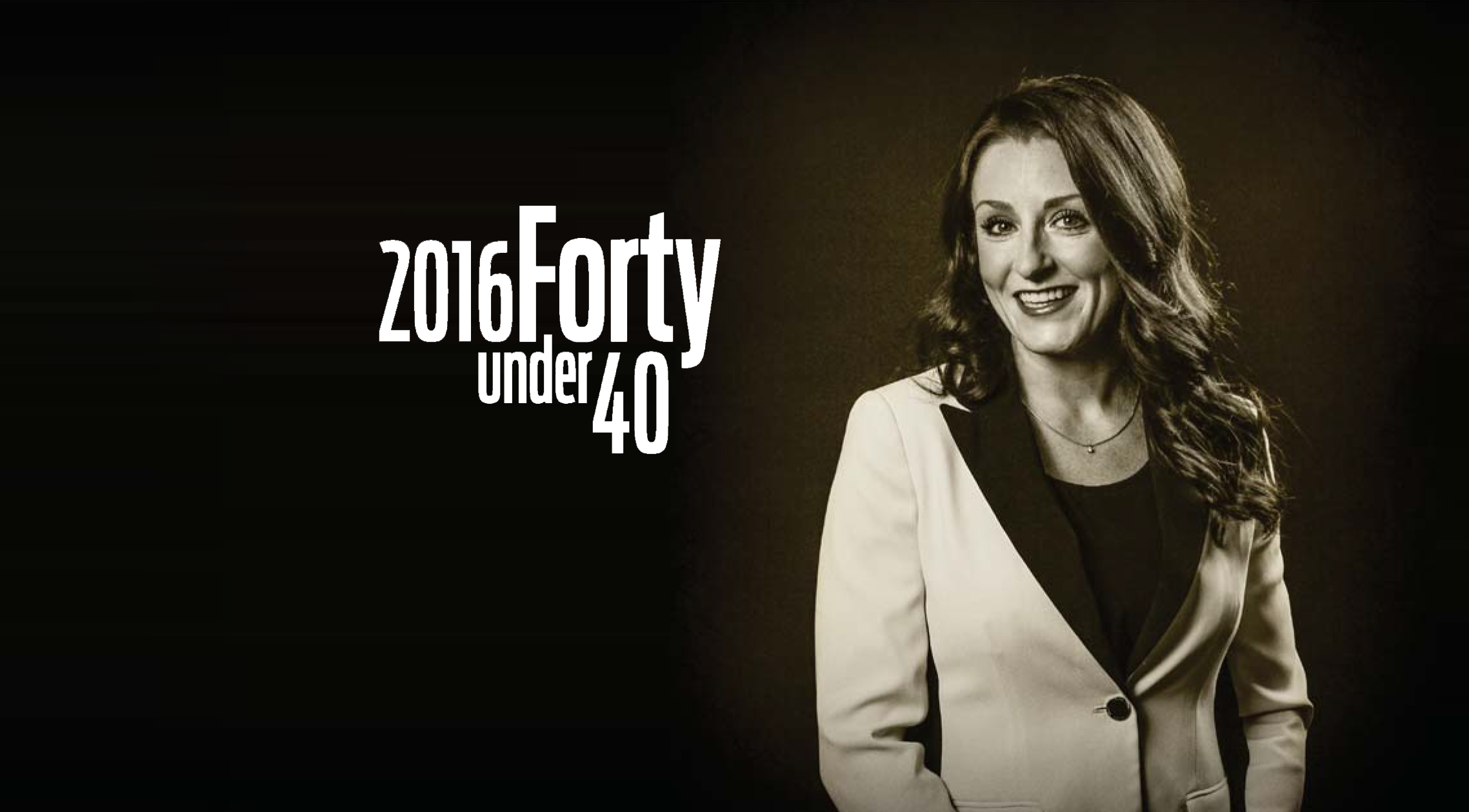Jacqueline Gallagher Graces Cover of BIV Magazine as one of Forty Under 40