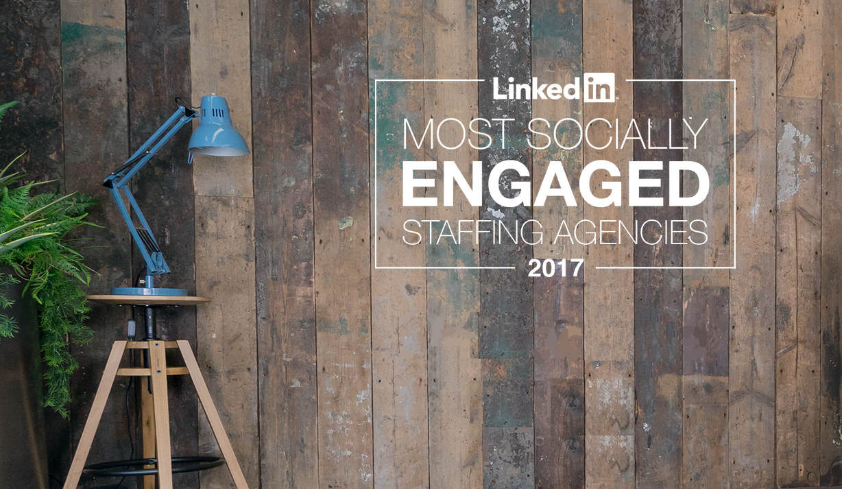 Aplin named Most Socially Engaged Staffing Agency in 2017